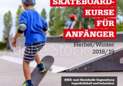 Skateboard-Anfängerkurse 2018/2019