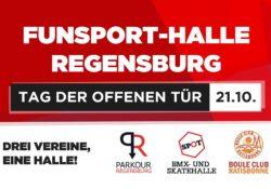Funsport-Halle lädt am 21. Okt. 2018 ein zu einen Tag der offenen Tür