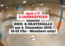 2 Jahre BMX- und Skatehalle Regensburg
