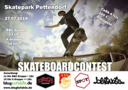 Skateboardcontest 2019 Pettendorf