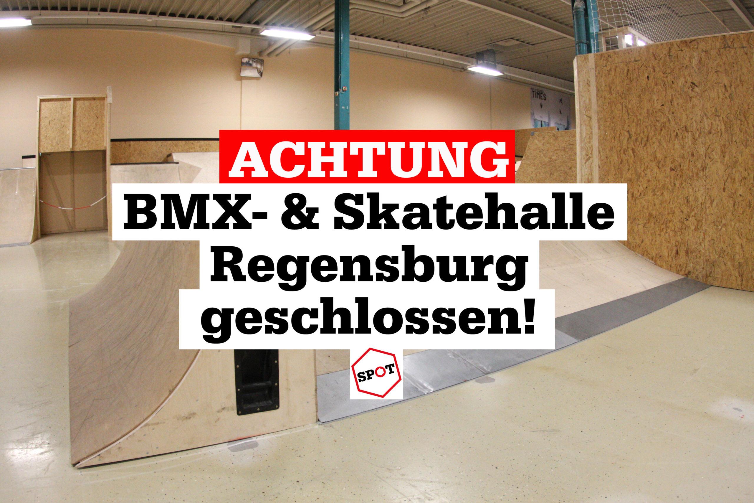 Die BMX- und Skatehalle Regensburg ist derzeit geschlossen.